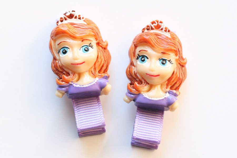 Sofia The First Resin Clip