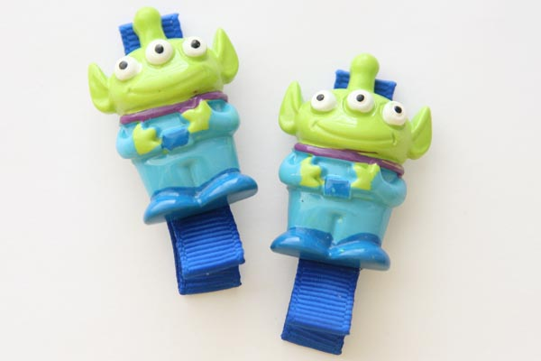 Toy Story Aliens Resin Clip