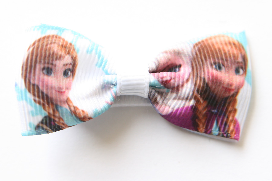 Frozen Bow Hairclips - Elsa, Anna & Olaf