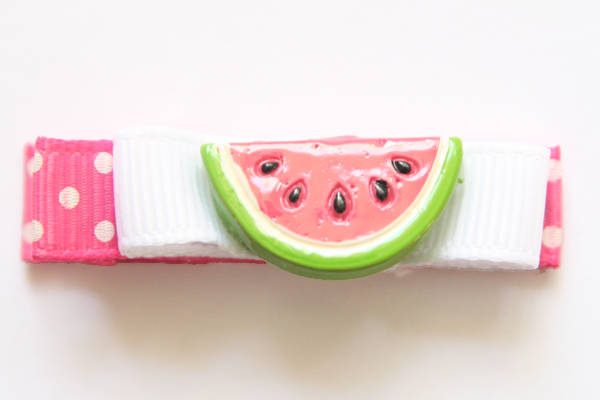 Juicy Watermelons - Resin & Bow