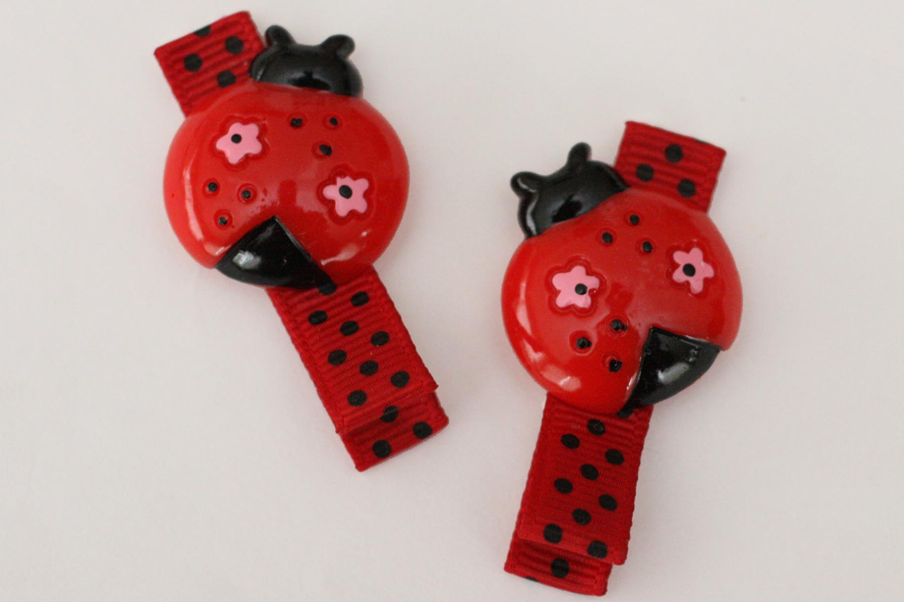 Lovely Ladybird Resin Clip