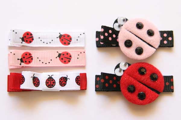 Lovely Ladybirds - Appliques