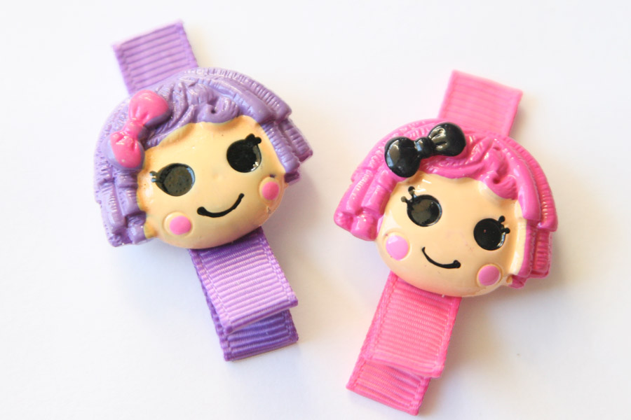 La La Loopsy Girls/Dolls Resin Clip