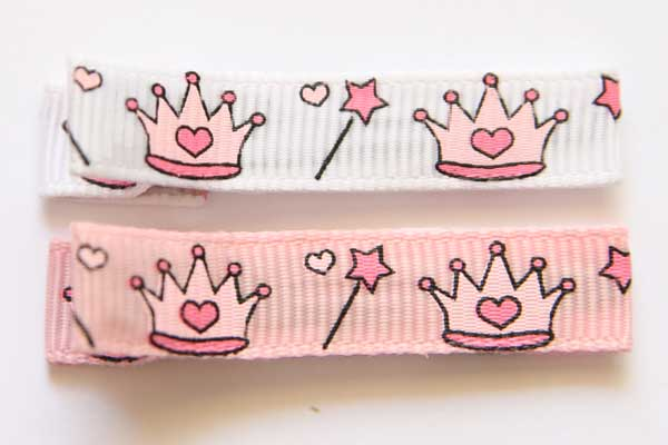 Princess Crown Collection Clippies