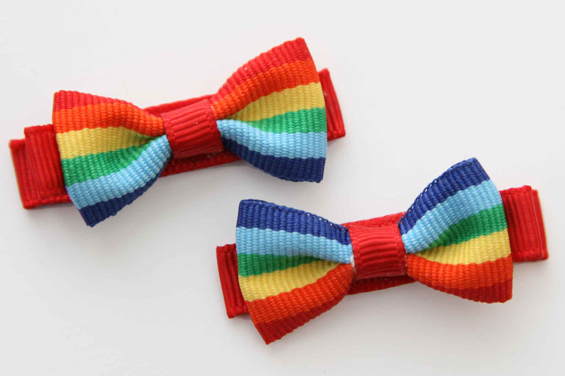 Rainbow Beautiful Bow