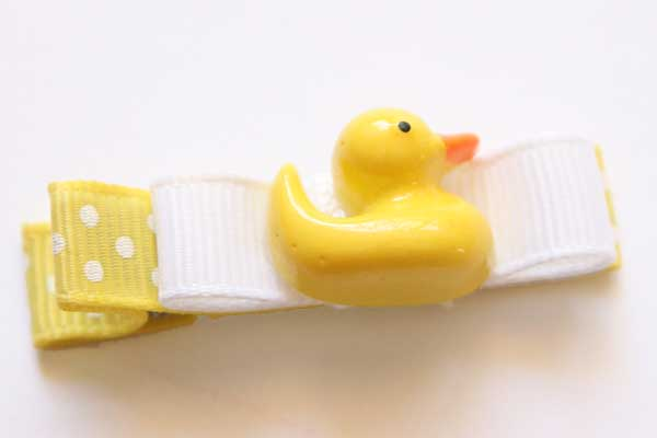 Rubber Ducky - Resin & Bow