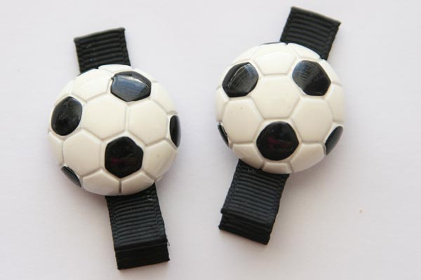 Sports Clippies - Soccer Resin Clip