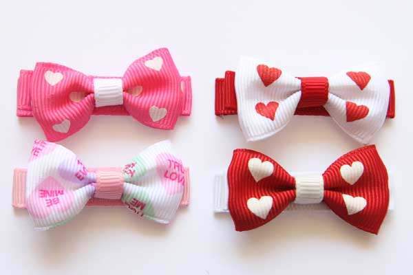 Valentines Day Small Beautiful Bows
