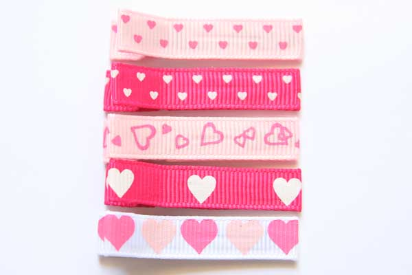 Valentines Day Heart Clippies