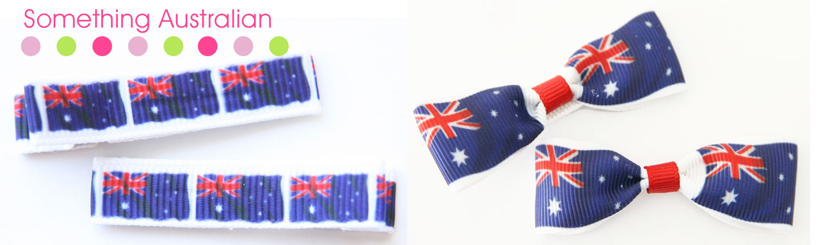 Something Australian from Aprilrose Hairclips